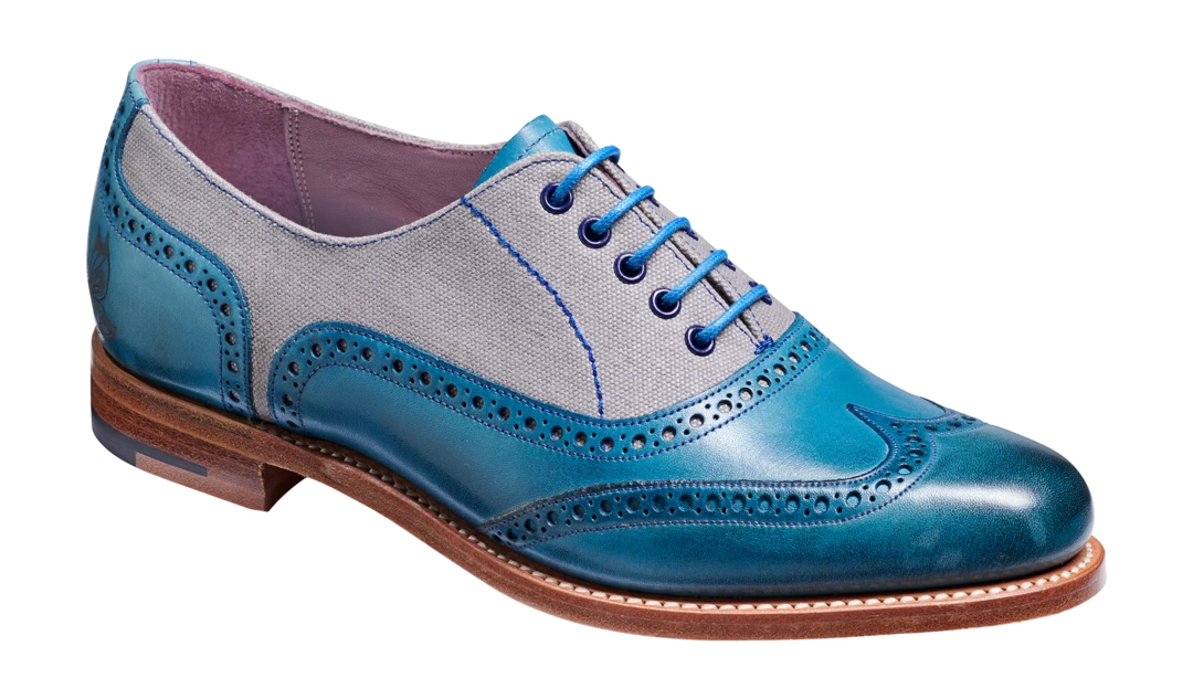 Barker Women's Ali Leather Brogue Shoes 7225/54