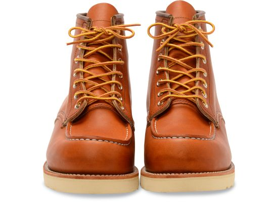 Red Wing Men's Classic Moc Leather Lace-Up Boots 875