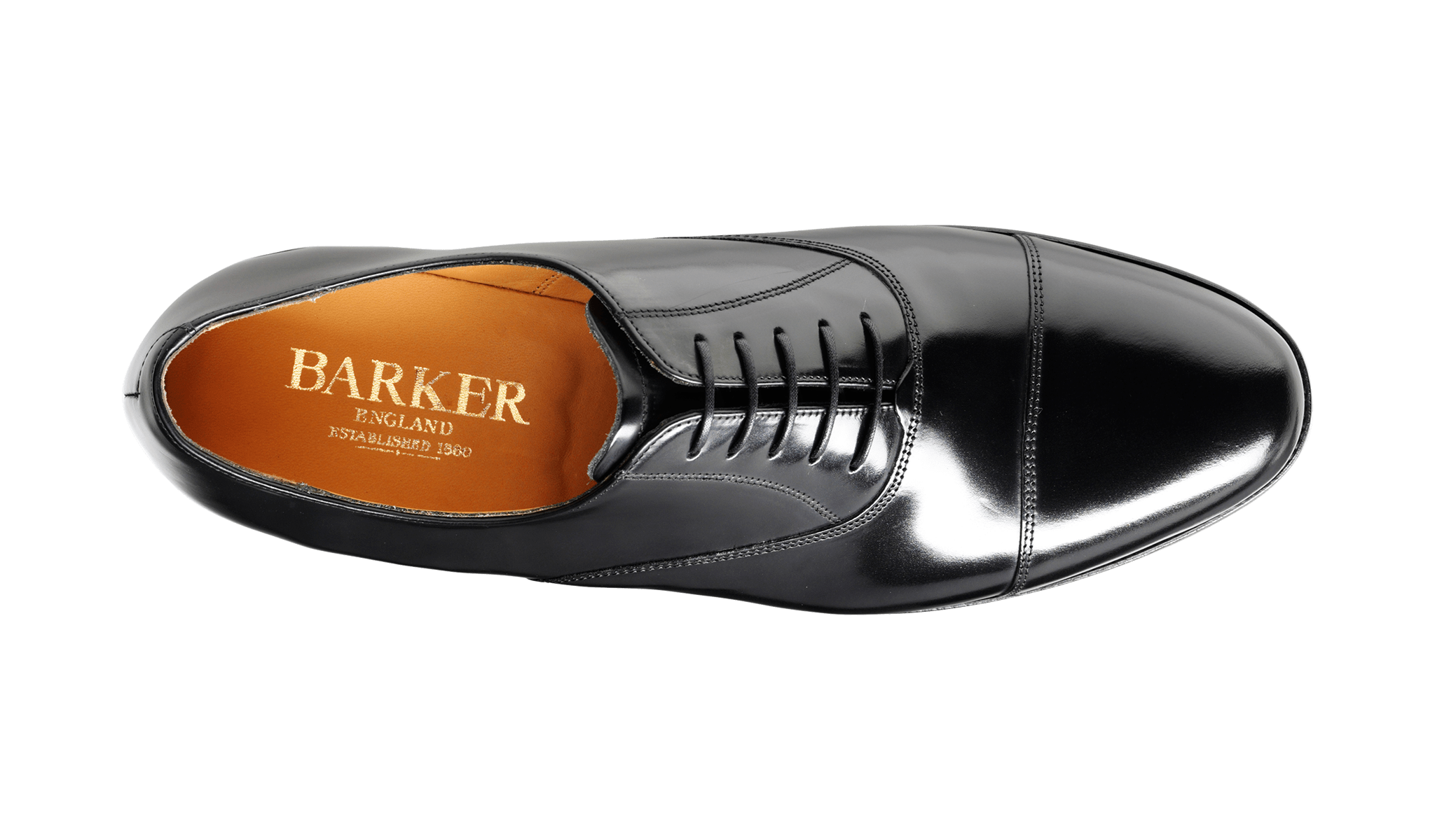 Barker Men's Arnold Leather Oxford Shoes 6644/35 - British Shoe Company