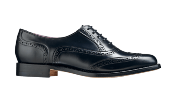 Barker Womans's Freya leather Brogue Shoes 7127/16 - British Shoe Company