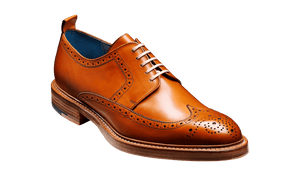 Barker Men's Bailey Leather Brogue Shoes 4405/26 - British Shoe Company
