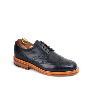 Sanders Men's Bruno Leather Brogue Shoes 9276/A