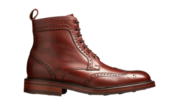 Barker Men's Calder Leather Brogue Boots 4149/76