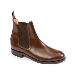 Sanders Men's Chelsea Leather Pull-On Boots 1864/T
