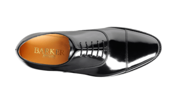 Barker Men's Cheltenham Leather Oxford Shoes 3271/17 - British Shoe Company