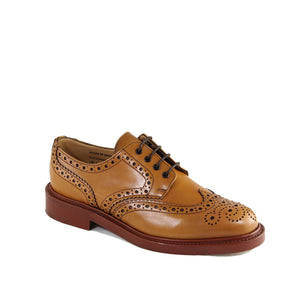 Sanders Men's Fakenham Leather Brogue Shoes 9317/LT