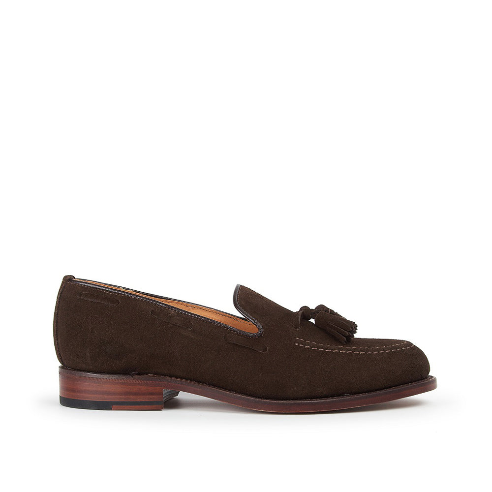 Sanders Men's Finchley Suede Slip-On Shoes 7174/TDS