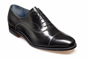 Barker Hartley-Black Hi-Shine-British Shoe Company