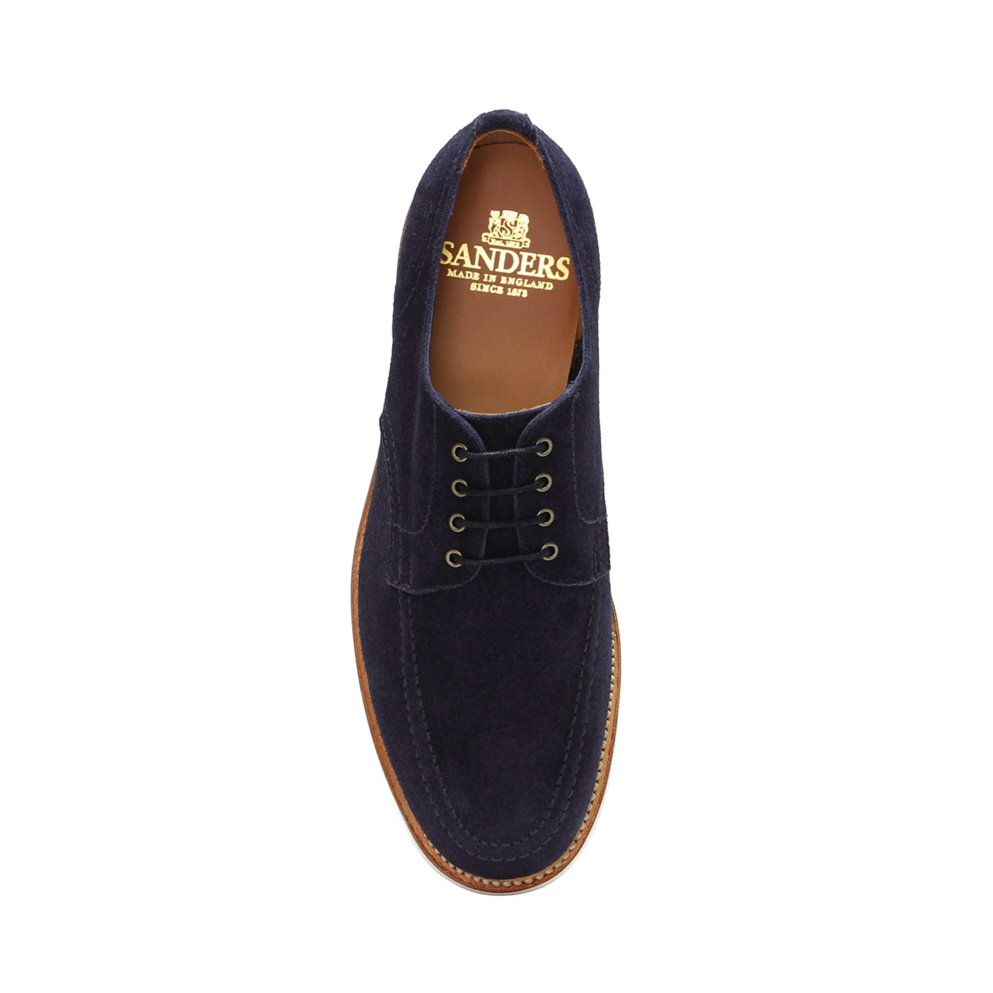 Sanders Men's Henry Suede Lace-Up Shoes 2132/AOS