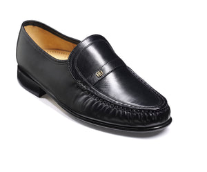 Barker Men's Jefferson Leather Slip-On Shoes 8492/17 - British Shoe Company