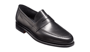 Barker Jevington-Black Calf-British Shoe Company