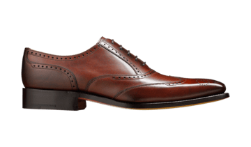 Barker Men's Johnny Leather Brogue Shoes 3287/36 - British Shoe Company