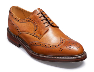 Barker Men's Kelmarsh Leather Brogue Shoes 4250/27 - British Shoe Company