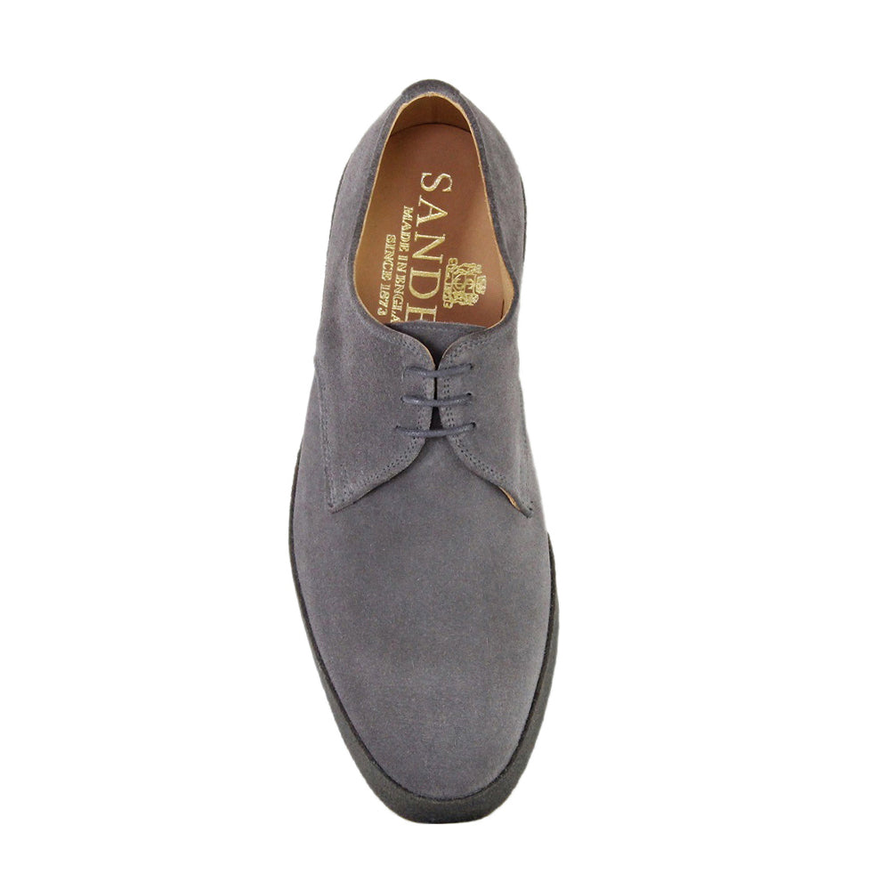 Sanders Men's Lo-Top Suede Derby Shoes 7995/GS