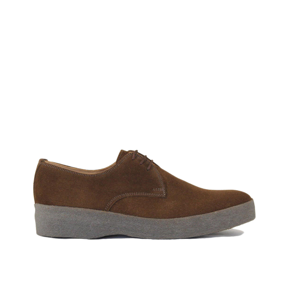Sanders Men's Lo-Top Suede Derby Shoes 7995/SS-6