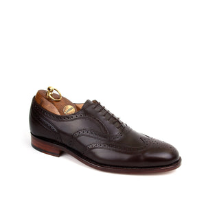 Sanders Men's London Leather Brogue Shoes 8468/TD