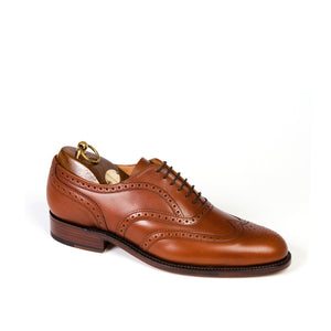 Sanders Men's London Leather Brogue Shoes 8468/T