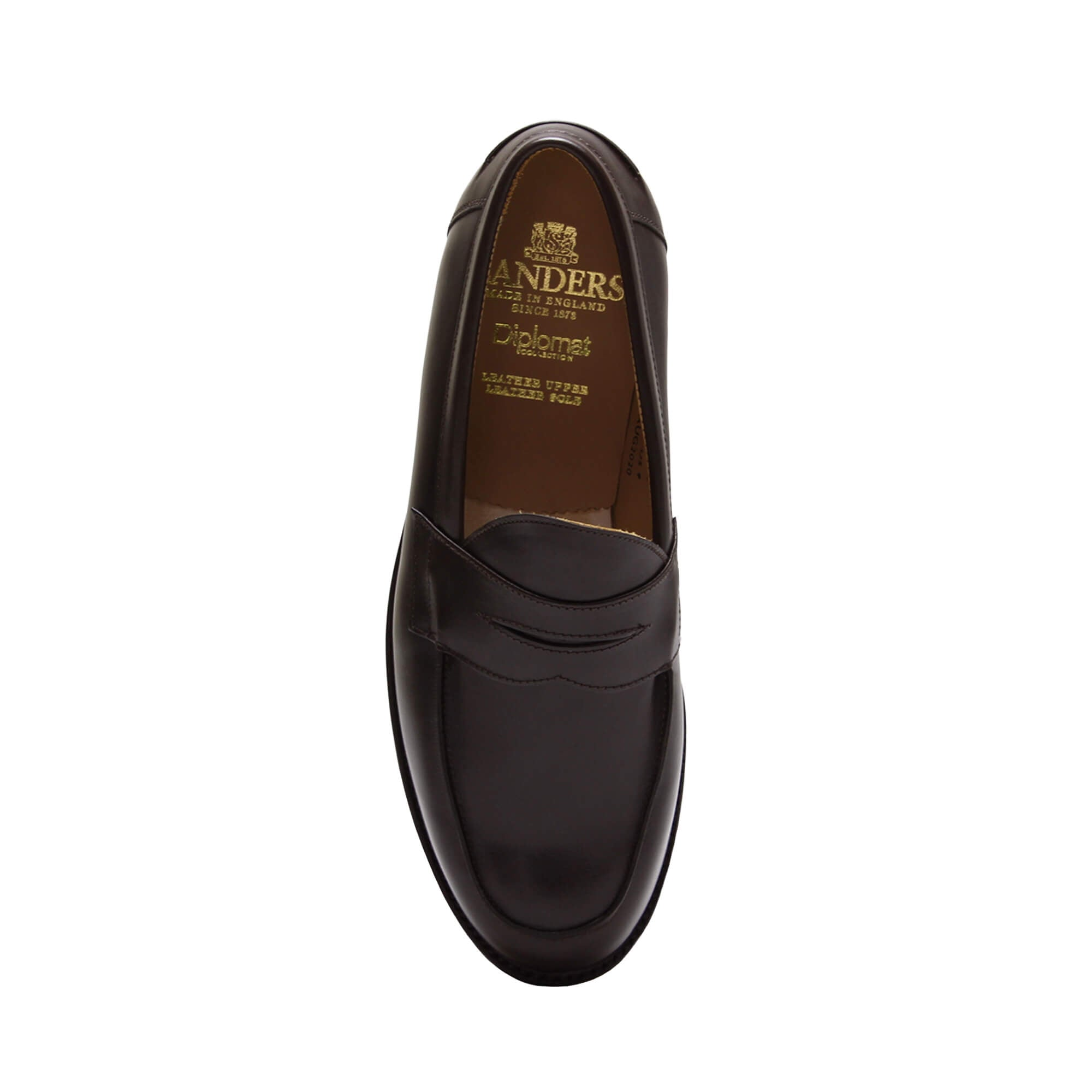 Sanders Men's Madrid Leather Slip-On Shoes 9486/TD