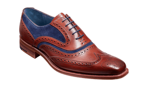 Barker Men's Mcclean Leather Brogue Shoes 3829/FW23 - British Shoe Company