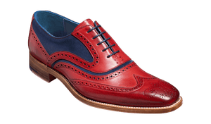 Barker Men's Mcclean Leather Brogue Shoes 3829/FW30 - British Shoe Company