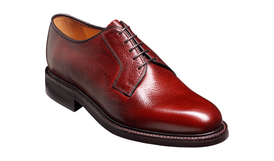 Barker Men's Nairn Leather Derby Shoes 9278/86 - British Shoe Company