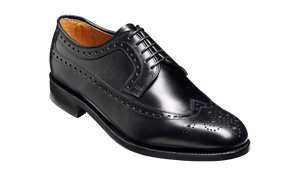 Barker Men's Portrush Leather Brogue Shoes 3770/18 - British Shoe Company