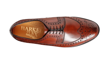 Barker Men's Portrush Leather Brogue Shoes 3770/48 - British Shoe Company