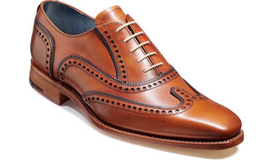 Barker Men's Spencer Leather Brogue Shoes 4676/27