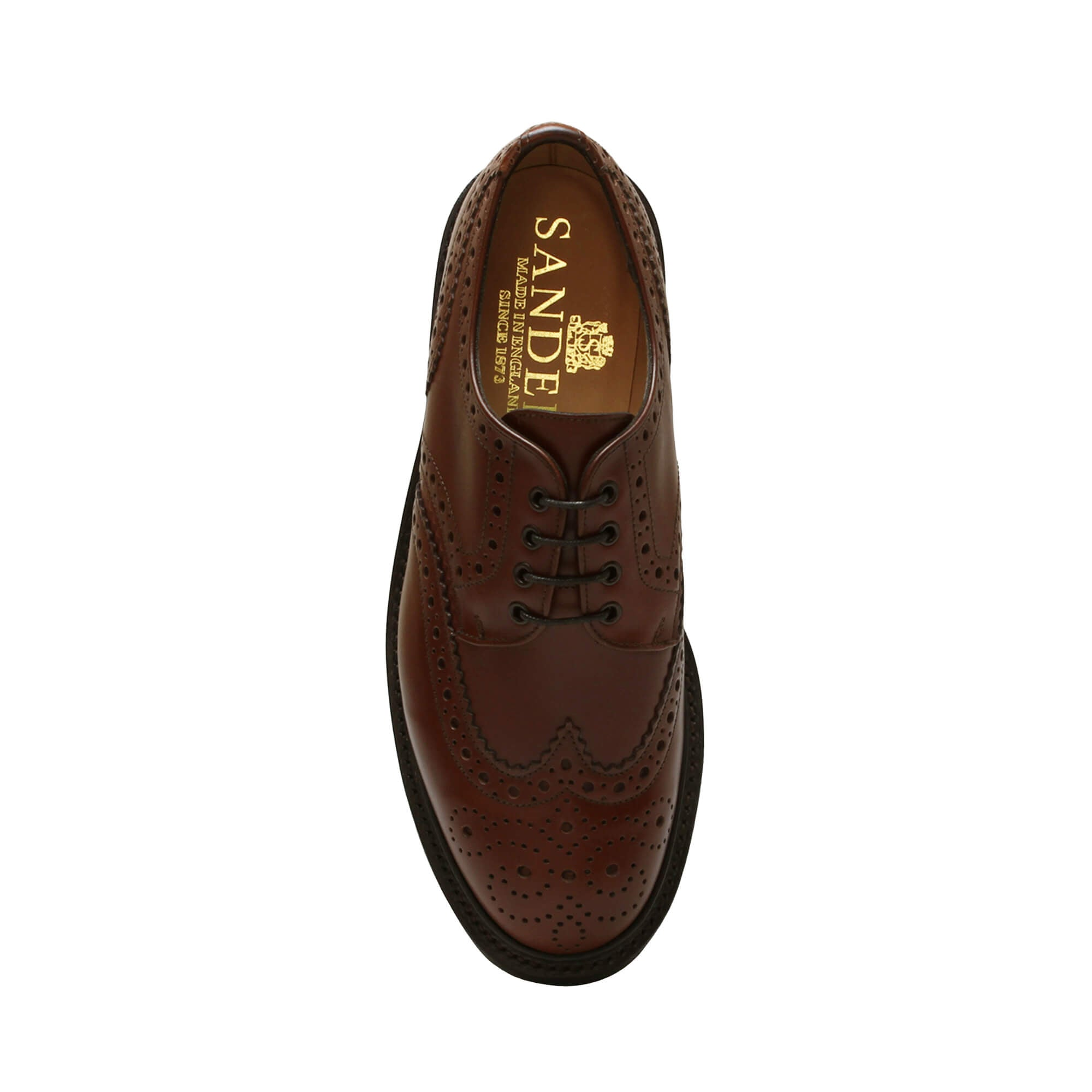 Sanders Men's Salisbury Leather Brogue Shoes 6688/T