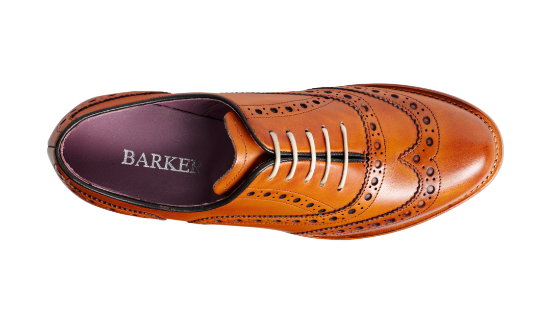 Barker Woman's Sloane Leather Brogue Shoes 7152/26