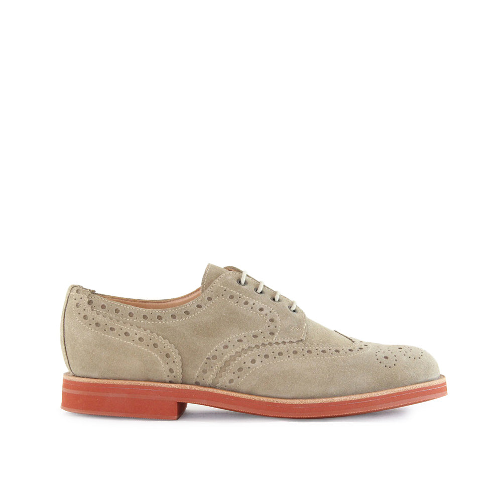 Sanders Men's Theo Suede Brogue Shoes 1705/DLS