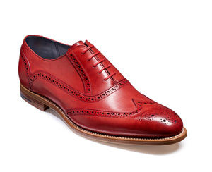Barker Valiant-Red-British Shoe Company