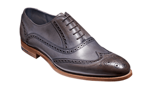 Barker Men's Valiant Leather Brogue Shoes 4178/66 - British Shoe Company