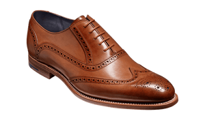Barker Men's Valiant Leather Brogue Shoes 4178/26 - British Shoe Company
