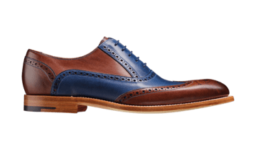 Barker Men's Valiant Leather Brogue Shoes 4178/FW22 - British Shoe Company
