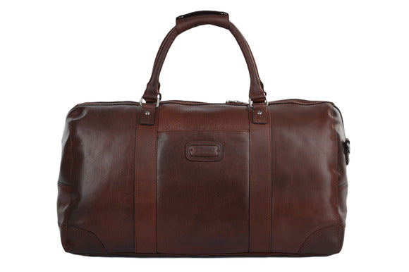 Ashwood Francis Leather Holdall Tan