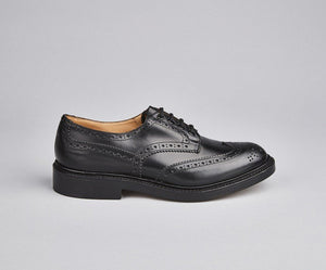 Tricker's Bourton Dainite Sole-Black-British Shoe Company