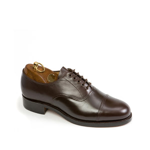 Sanders Camberley-Dark Brown-British Shoe Company