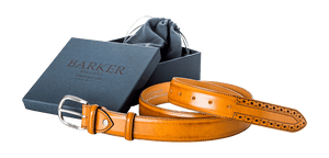Barker Brogue Belt-One Size-British Shoe Company