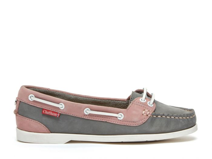 Chatham Women's Harper Leather Lace-Up Boat Shoes CSWH/GP
