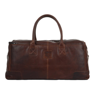Ashwood 4556 Leather Holdall Tan/Brown