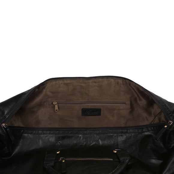 Ashwood G-36 Leather Holdall Black