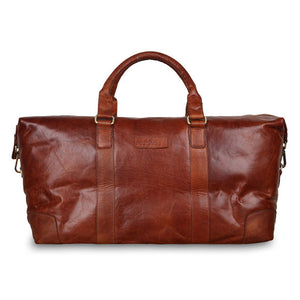 Ashwood G-36 Leather Holdall Honey Tan