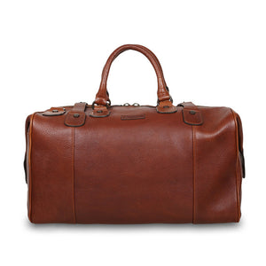 Ashwood Theodore Leather Holdall Chestnut
