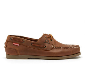 Chatham Men's Galley II Leather Lace-Up Boat Shoes CGS2/DT
