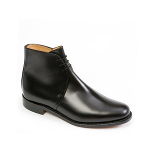 Sanders George-Black Calf-British Shoe Company