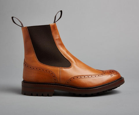 Tricker's Henry-1001 Burnished-British Shoe Company