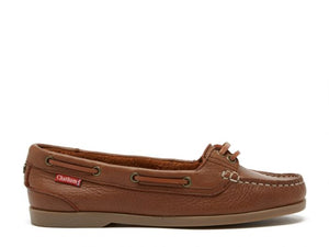 Chatham Women's Harper Leather Lace-Up Boat Shoes CSWH/BL