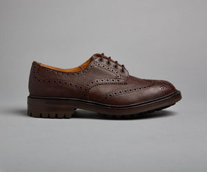 Tricker's Ilkley-Brown Zug Grain-British Shoe Company