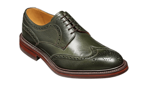 Barker Men's Kelmarsh Leather Brogue Shoes 4250/99 - British Shoe Company